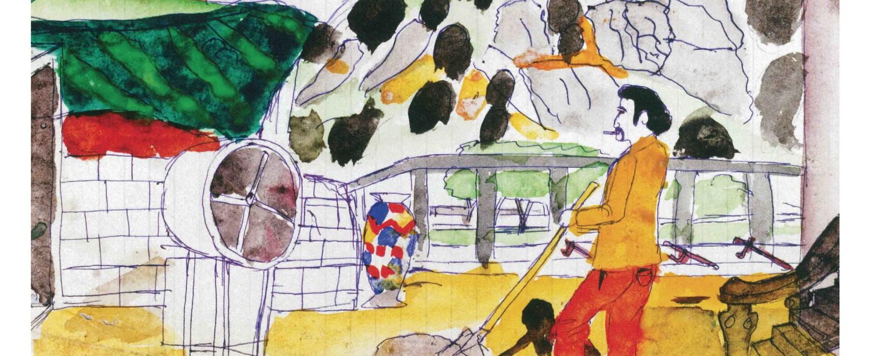 [Exposition] «Regard clandestin» – Exposition de dessins de Roger Bichard