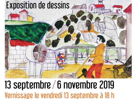 [Exposition] « Regard clandestin » – Exposition de dessins de Roger Bichard