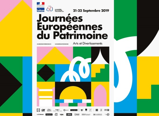 Journées européennes du patrimoine #JEP2019