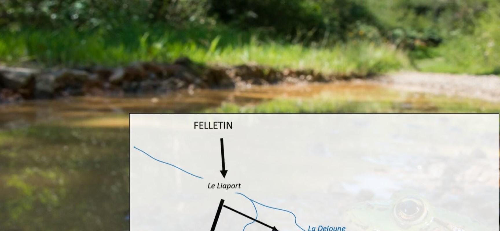 Conférence sur les Zones Humides par Rob VEEN, sur le terrain en vallée de La Dejoune