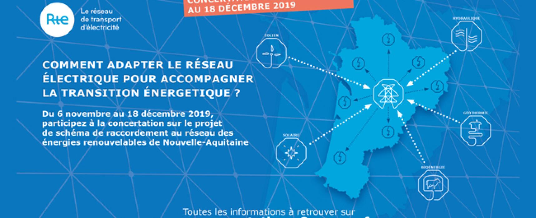 Participez à la concertation sur le projet de Schéma Régional de Raccordement au Réseau des Énergies Renouvelables