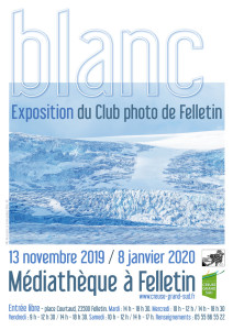 Affiche expo CLUB PHOTO NOV-DEC 19