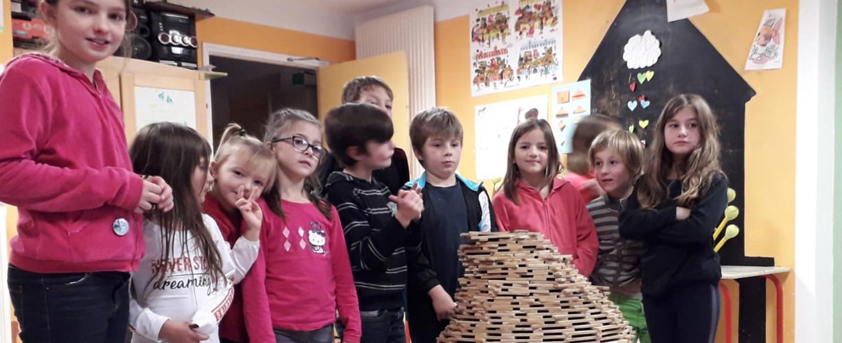 Des vacances créatives pour les accueils de loisirs Cigale #Felletin et du Plateau #Gentioux