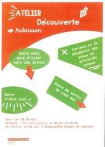 Atelier Découverte - Ecoute et Soutien 23