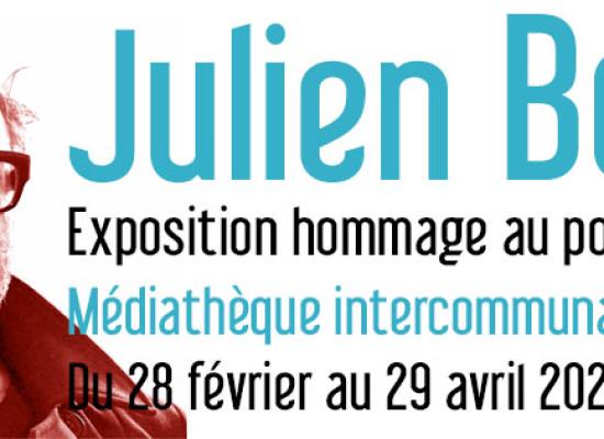 [Exposition] Julien Bosc – hommage au poète-éditeur