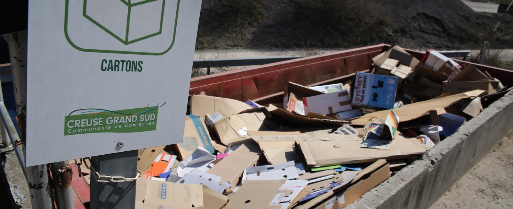 Réouvertures des déchèteries Creuse Grand Sud au public sur RDV
