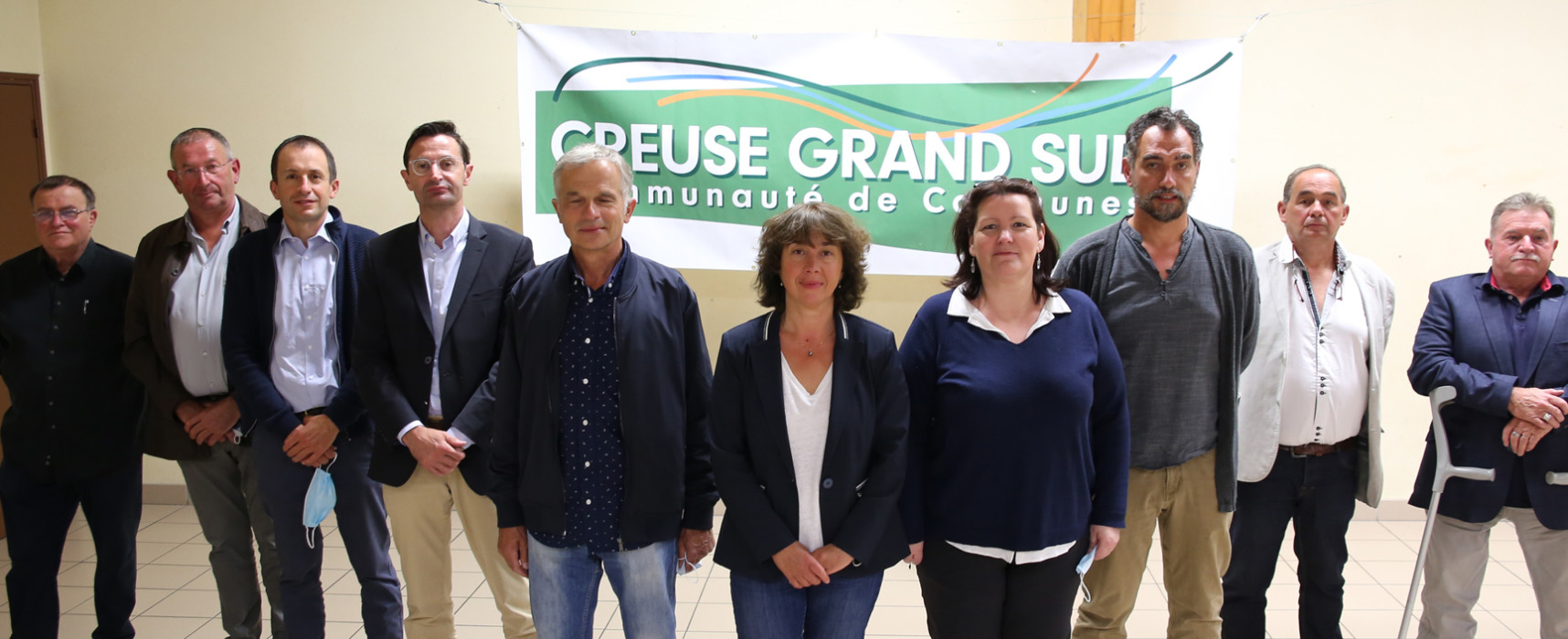 Un nouvel exécutif pour Creuse Grand Sud