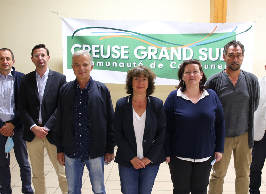 Un nouvel exécutif pour Creuse Grand Sud – Juillet 2020