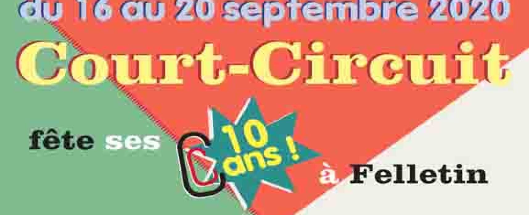 L'association Court-Circuit fête ses 10 ans du 16 au 20 septembre 2020
