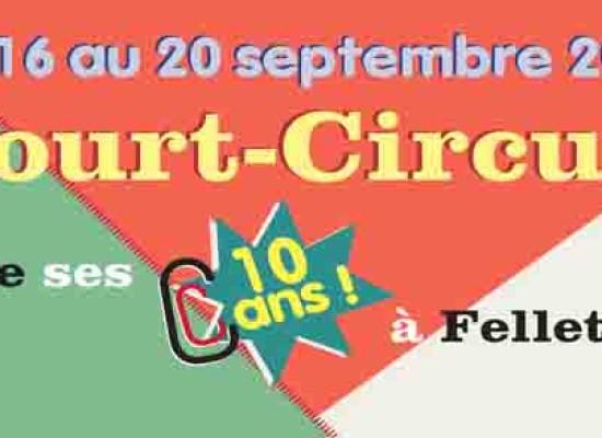 L'association Court-Circuit fête ses 10 ans du 16 au 20 septembre
