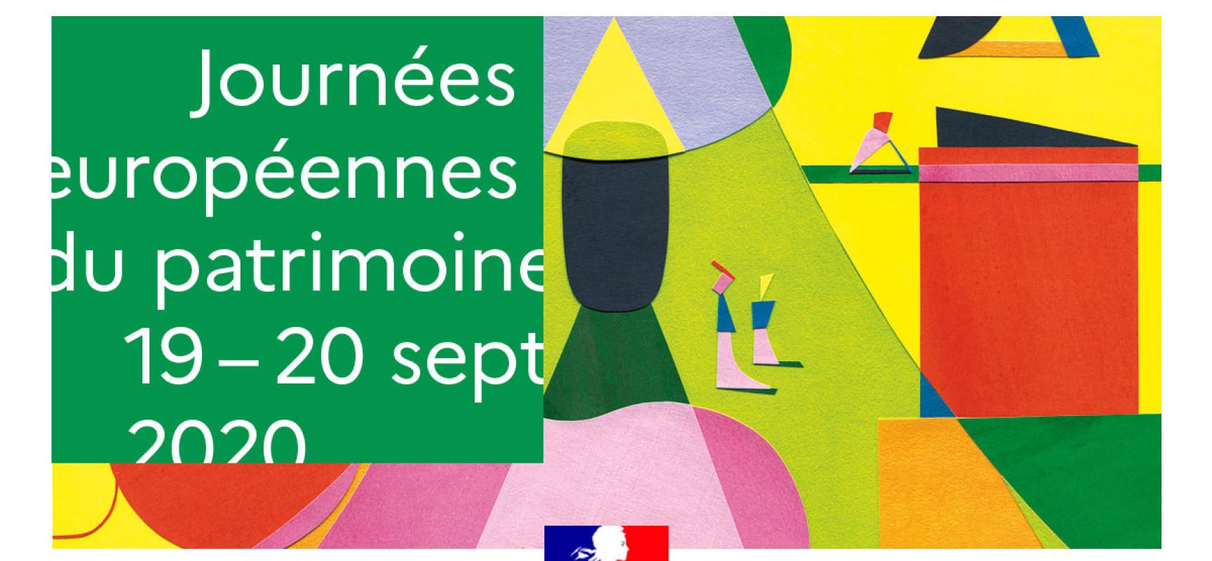 37ème édition des Journées Européennes du Patrimoine #JEP2020