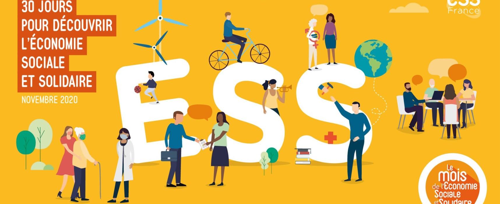 Rejoignez la dynamique du MOIS de l'ESS