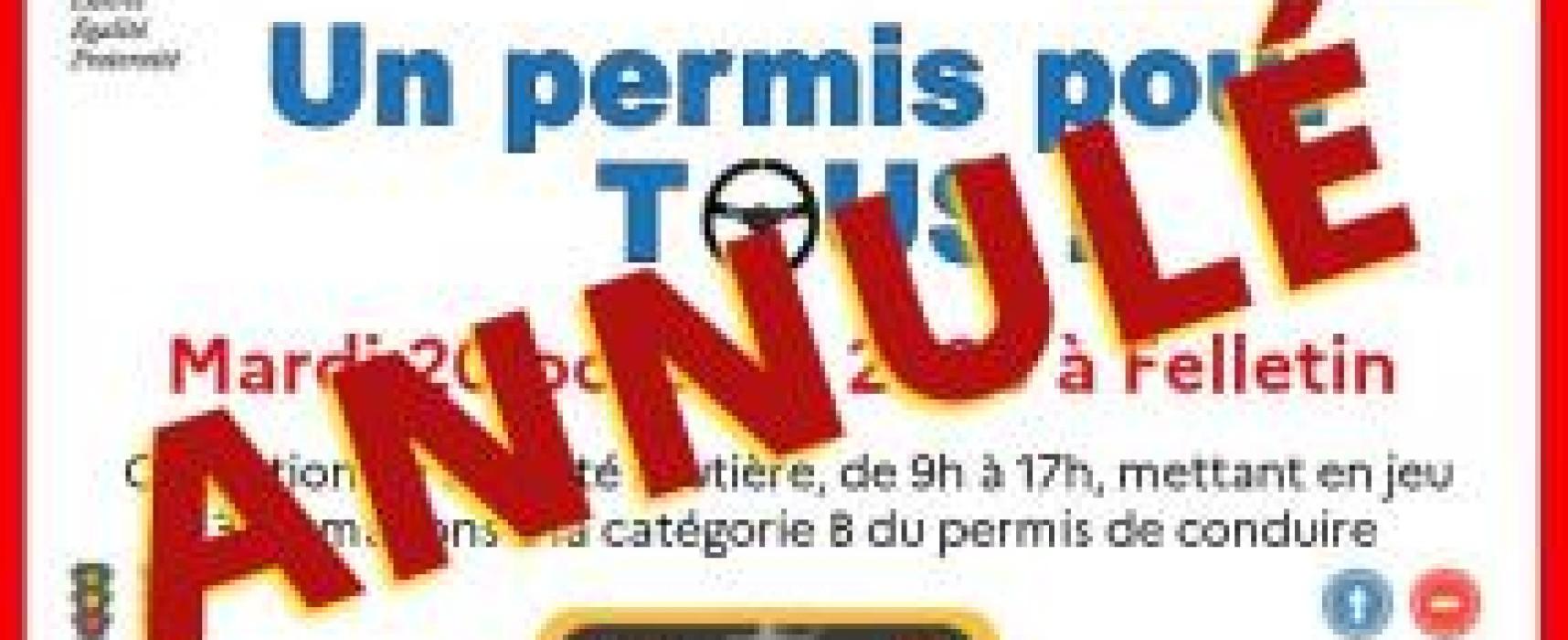 Un permis pour tous #Felletin