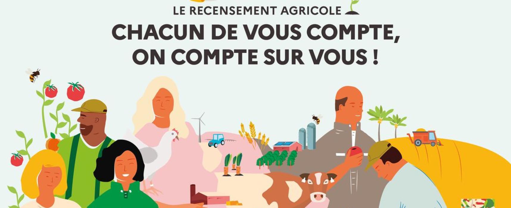 Recensement agricole 2020