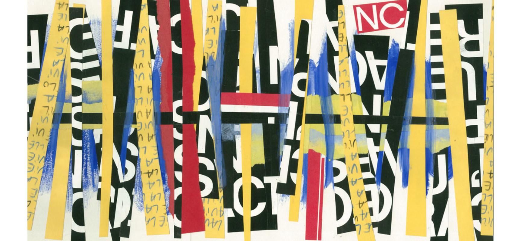 [Exposition] «Daniel Fatous / Collages»  du 6 janvier au 27 février 2021à la médiathèque #Felletin