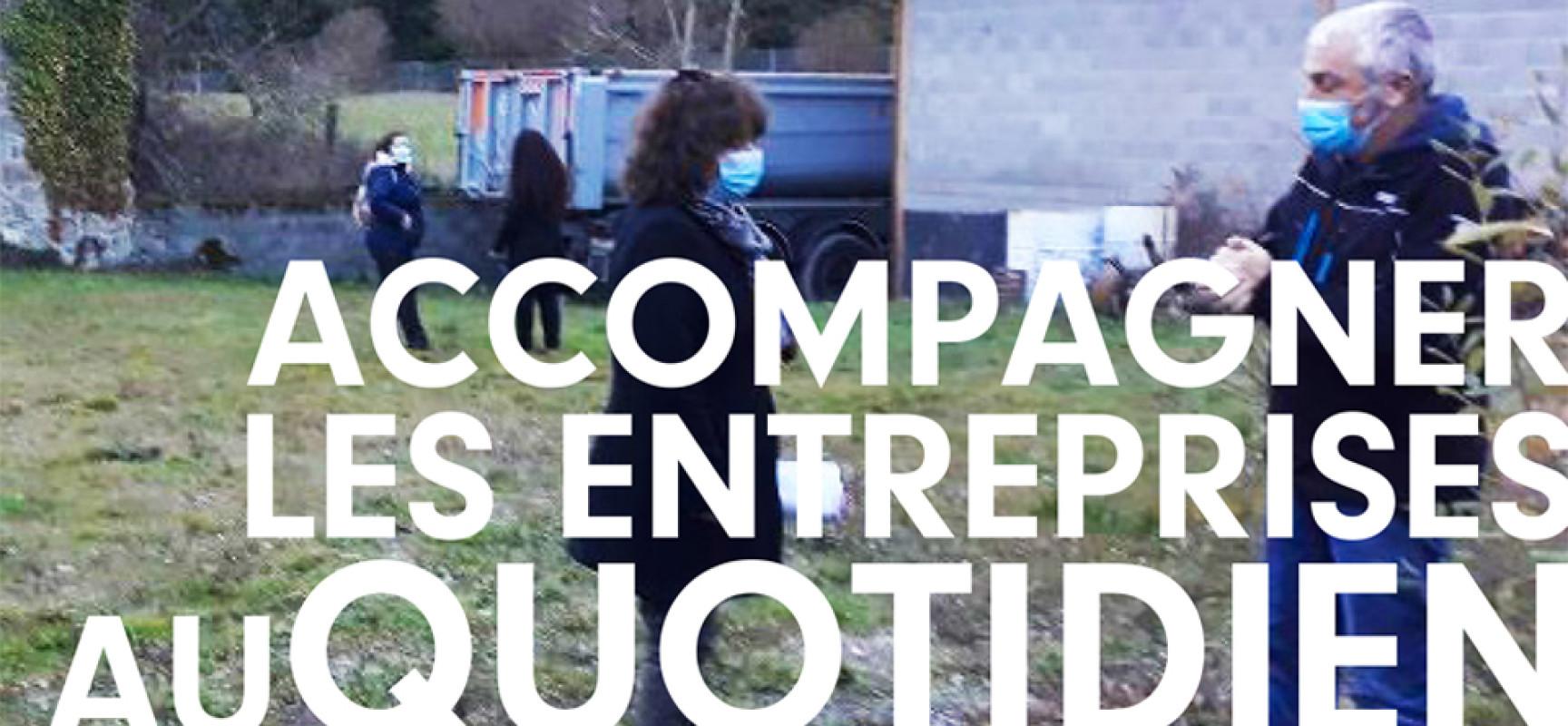 La Communauté de communes Creuse Grand Sud via son service «Développement Économique – Accueil-Attractivité», accompagne les entreprises au quotidien