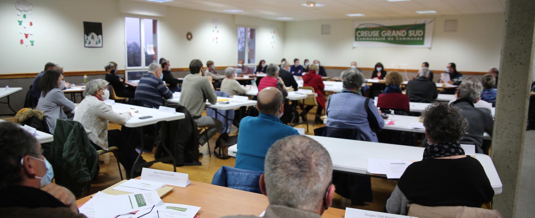 Prochain Conseil communautaire le 22 septembre 2021