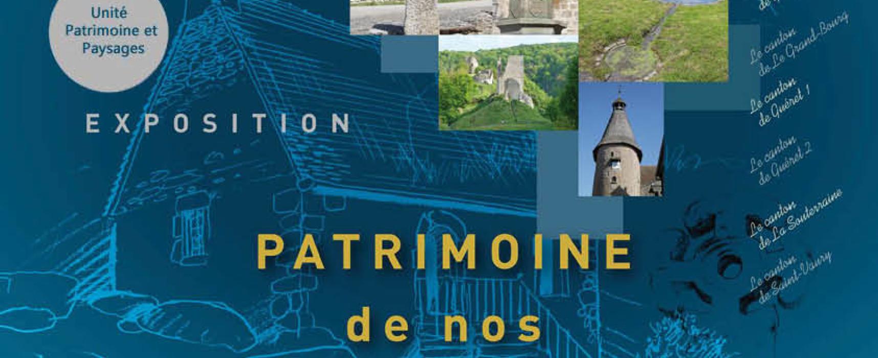 Saint-Amand, une exposition pour redécouvrir le patrimoine de la campagne creusoise