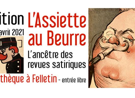 [Exposition] «L'Assiette au Beurre»  du 3 mars au 30 avril 2021 à la médiathèque #Felletin