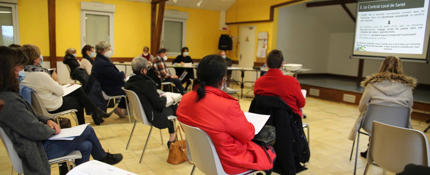 Première Commission Santé pour Creuse Grand Sud