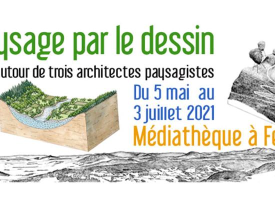 [Exposition] « Le paysage par le dessin » du 5 mai au 3 juillet 2021 à la médiathèque #Felletin