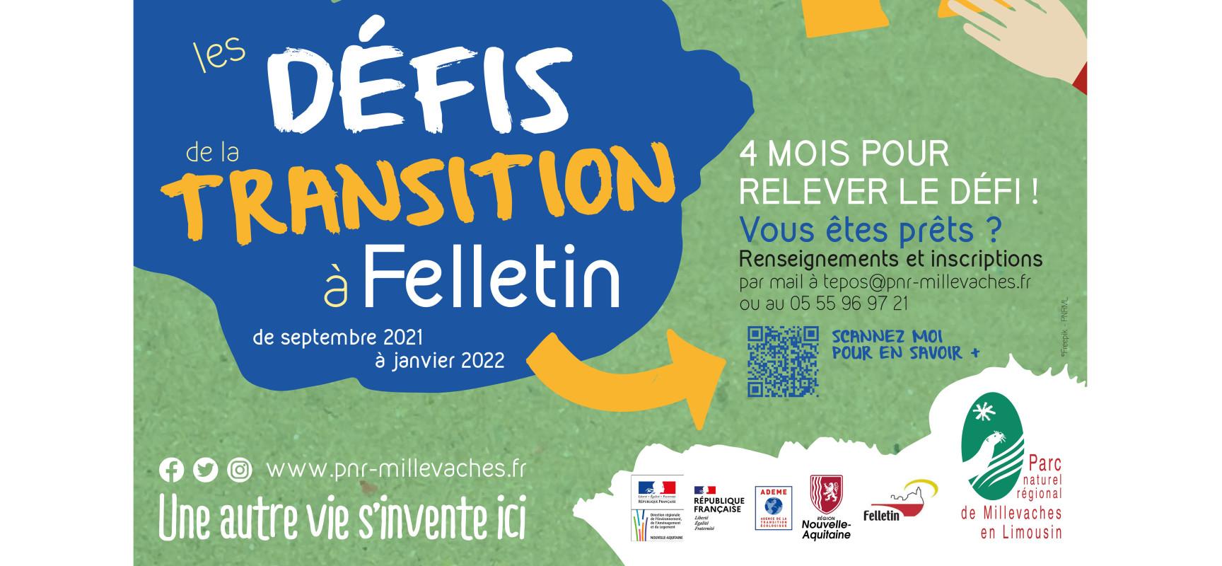 [PNRMillevaches] Défis de la transition 2021 sur la commune de Felletin