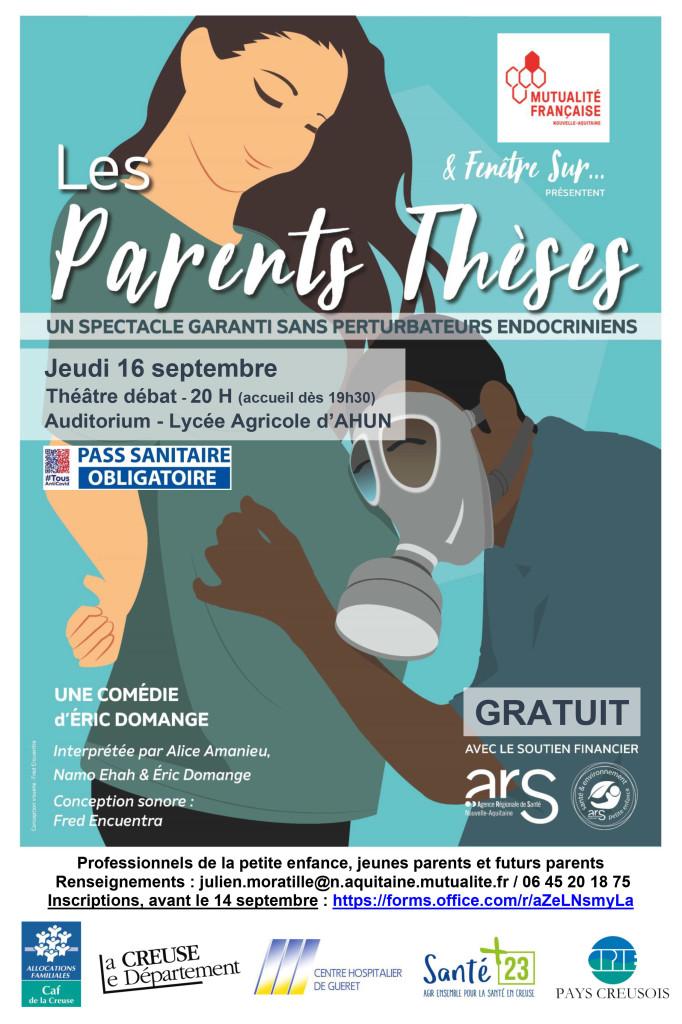 Affiche AHUN - LES PARENTS THESES - pass