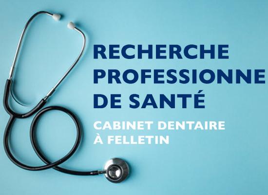 Recherche dentistes, Cabinet dentaire à Felletin – Septembre 2021