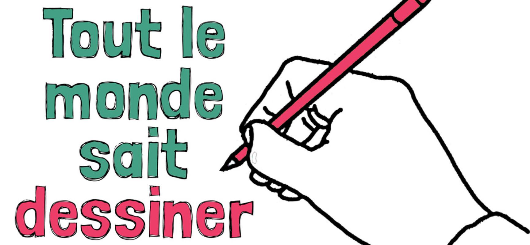 Atelier dessin à la Médiathèque – «Tout le monde sait dessiner» le mercredi 27 octobre 2021- Felletin