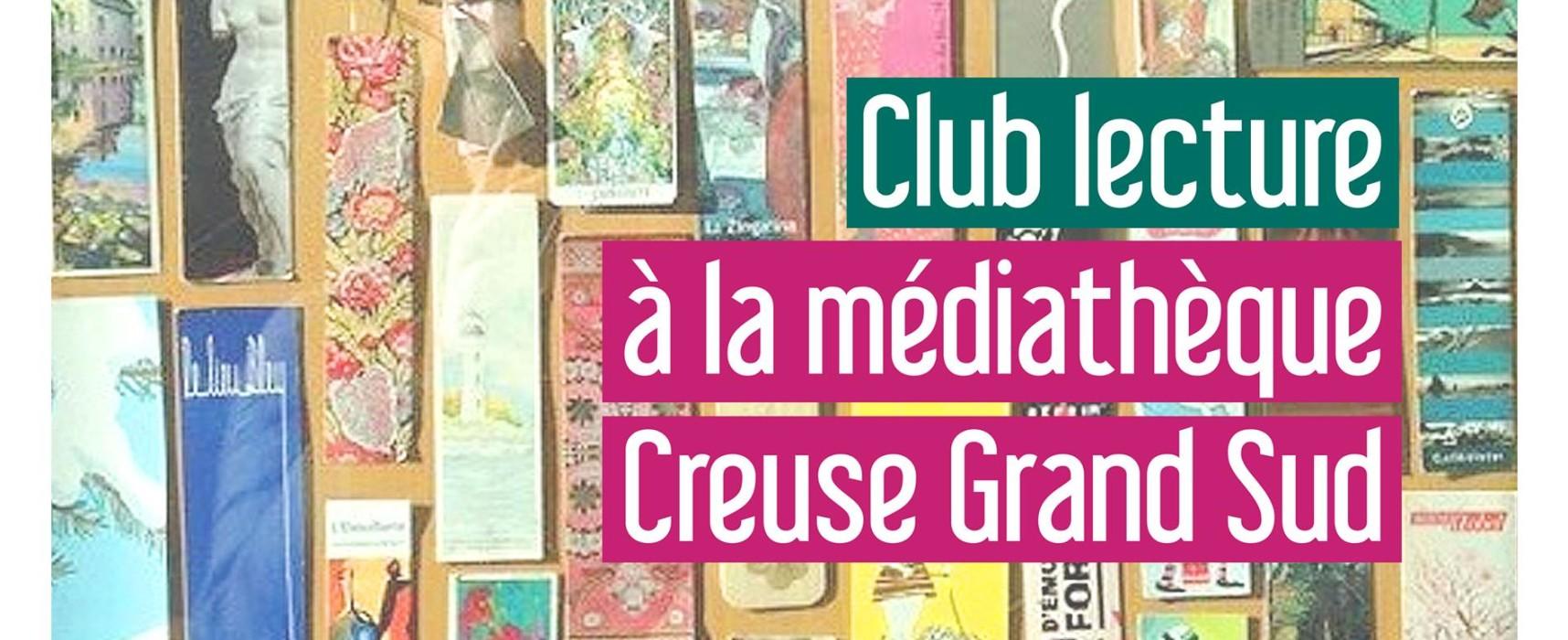 «Marque-pages» – Club lecture, mercredi 20 octobre 2021 à 18h