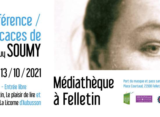 Conférence – dédicaces de Jean-Guy SOUMY