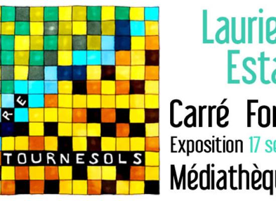 Exposition et visité guidée – «Carré Forêt Béton» de Laurie-Anne ESTAQUE